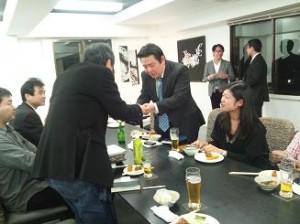 販売戦略検討会 11月13日 ナパバレーセミナー 懇親会