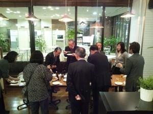 販売戦略検討会1月 懇親会2