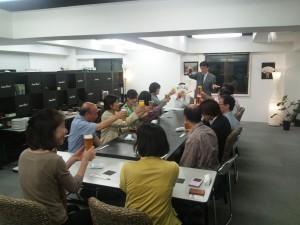 販売戦略検討会15年9月定例会 懇親会01